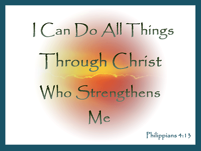 Free Christian Graphic with scripture
